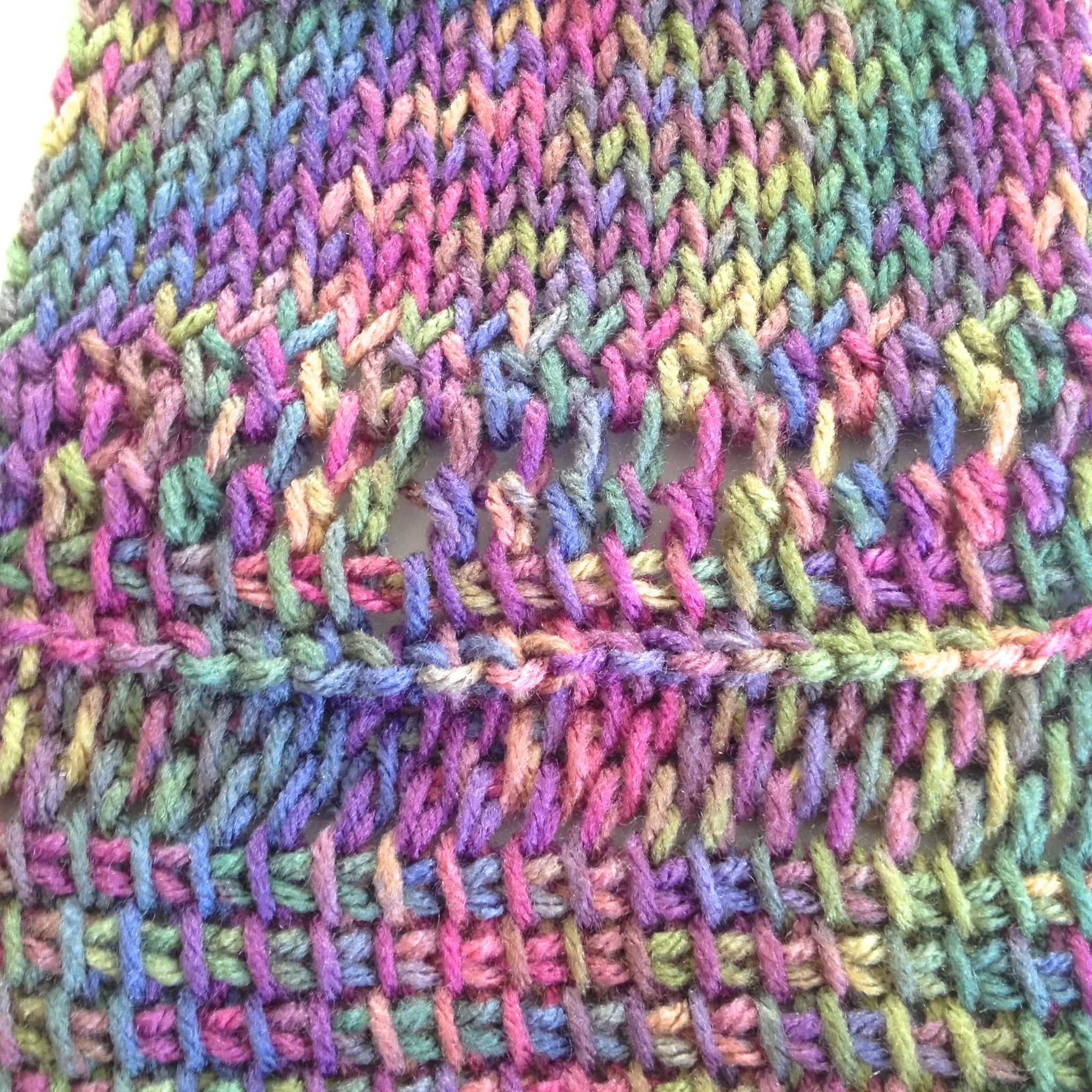 Crochet Stitches And Their Names : Study in Tunisian Crochet - Studio Deanna
