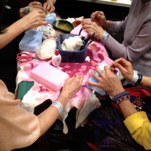 Tokyo Spinning Party Felting